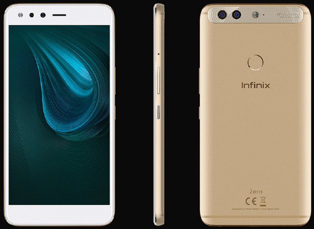 The Infinix Zero 5 comes in 3 Colours: Beaudeux Rex, Sandstone Black and Champagne Gold.