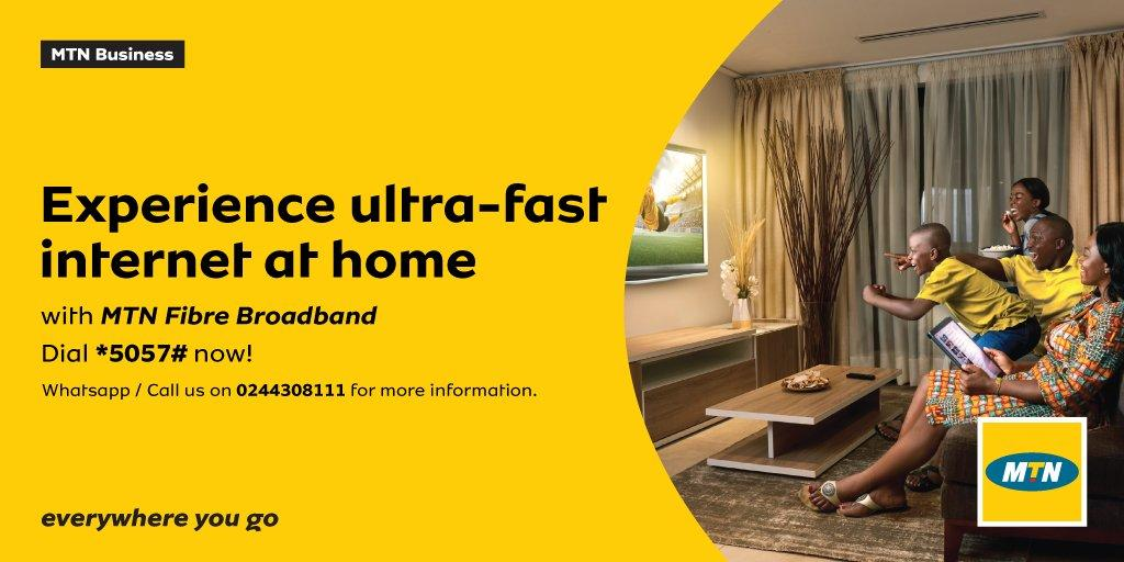 MTN Fibre Broadband Network And Where It Is Available In Ghana